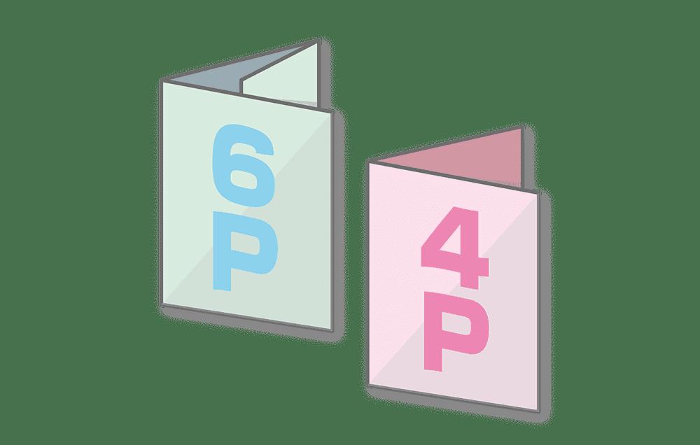 折パンフレット印刷